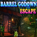 play Barrel Godown Escape