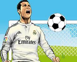 Ronaldo Pacman game