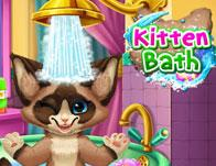 play Kitten Bath