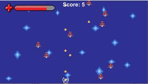 play Asimpletopdownspaceshooter