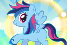 Rainbow Dash Super Style game