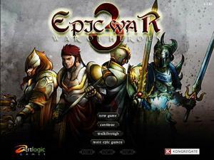 Play Epic War 3 game