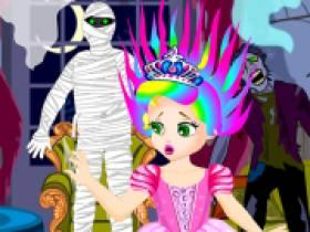 Princess Juliet Scary Adventure - Free Game At Playpink.Com game