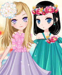 play The Story Of Flowering Dress Up Game