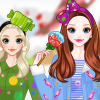Winter Candy Colors game