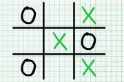 Tic Tac Toe Paper Note Girl game