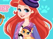 play Ariel Makeover With Kitty