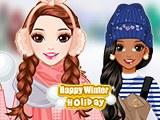 Happy Winter Holiday game