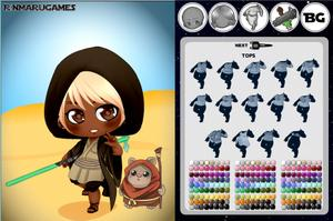 Star Wars Geek Chibi game