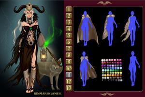 Dark Mage Creator game
