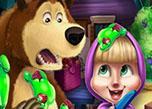 Masha And Bear Kitchen Mischief game