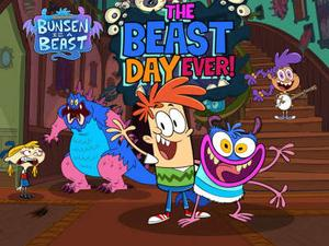 Bunsen Is A Beast: The Beast Day Ever Funny game