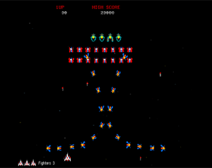 play Back To The 80'S - Galaga Clone