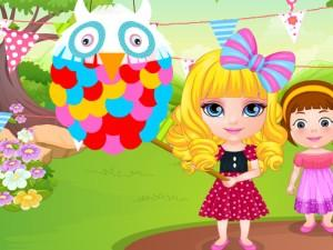 Baby Barbie Pinata Designer game
