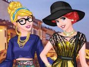 Princess Models At Milan Fashion Week game
