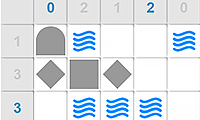 Daily Battleship Solitaire game