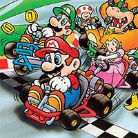 Super Mario Kart – F1 Tracks game