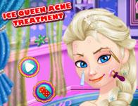 Ice Queen Acne Treatment game