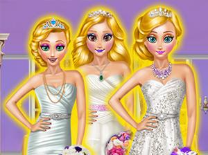 play Blonde Princesses Wedding Day