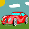 Red Sports Car Puzzle game
