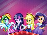 Equestria Girls Theme Room game