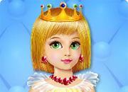 Baby Princess Nail Caring game