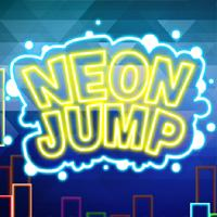 Neon Jump game
