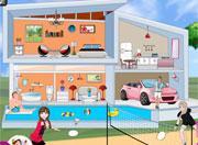 Elsa And Anna Modern House game