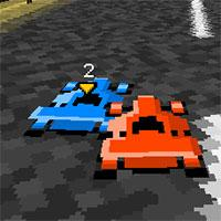 Pixel Paper Kart game