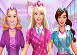 play Barbie School Uniform