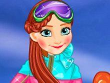 Princesses At Ski game