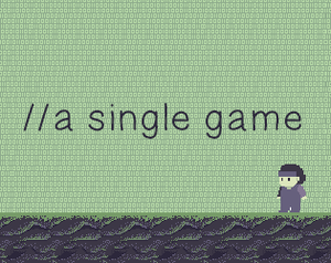 A Single Game game