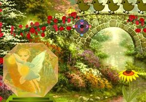 Butterfly Crystal Fairy Escape game