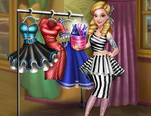 Dove Pinup Dollygals Dress Up game