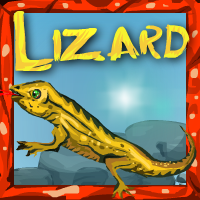 Lizard Rescue Escape game