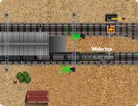 Train Traffic Control game
