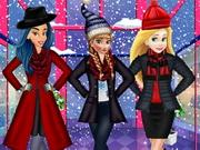 Princesses Winter Shopping game
