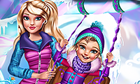 Princesses Winter Amusement game