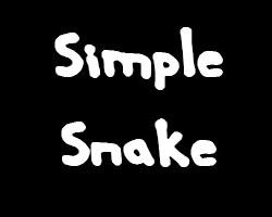 play Simple Snake