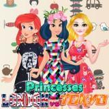 Princesses London Vs Tokyo game