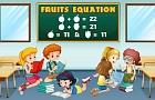 Fruit Equations game