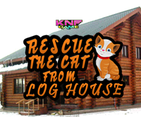 Rescue The Cat From Log House game