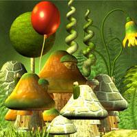 Bunny Mushroom World Escape game