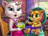 Angela Toddler Feed game
