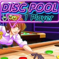 Disc Pool 1 Player game