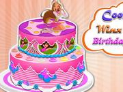 play Cooking Winx Club Birthday Cake