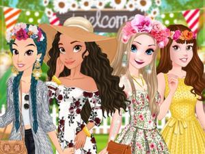 play Moana'S Garden Party Dress Up