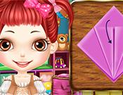 Smart Girl Fold Paper Cranes game