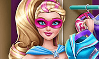 Superhero Doll Closet game