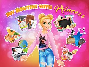 Day Routine With Princess game